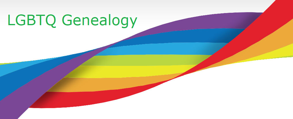 LGBTQ Genealogy Banner
