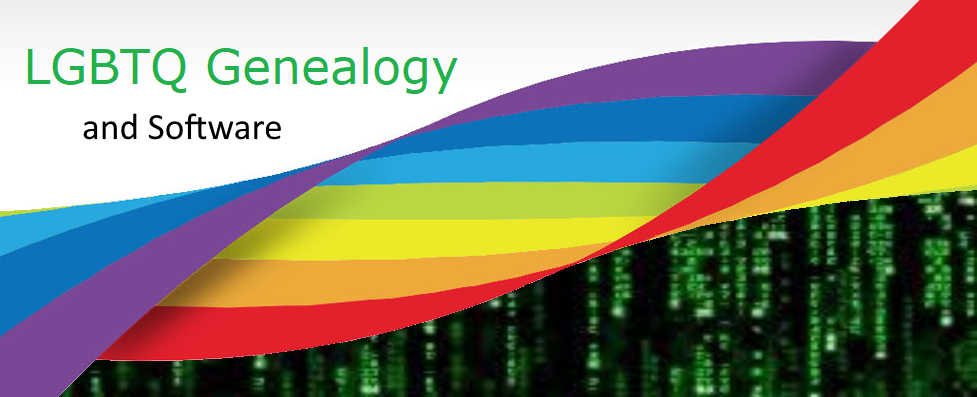 LGBTQ Genealogy and Software